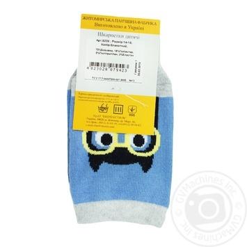 Legka Choda Blue Children's Socks 14-16s - buy, prices for MegaMarket - image 2