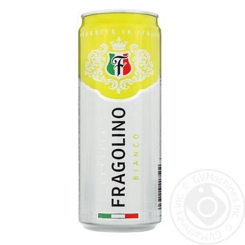 Фраголино Letizia Bianco белое полусладкое ж/б 7% 0.33л - купить, цены на Фуршет - фото 1