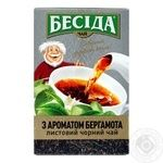 Besіda Black tea Earl Gray with bergamot flavor 80g