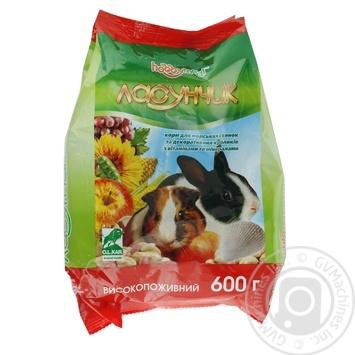Корм Hobby Meal Ласунчик для морських свинок та декоративних кроликів 600г