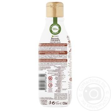 Маска-молочко Garnier Botanic Therapy Імбирне відновлення  для виснаженого та тонкого волосся 250мл - купити, ціни на Novus - фото 3