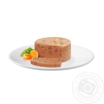 Корм GOURMET Gold С уткой морковью и шпинатом в паштете для взрослых кошек 85г - купить, цены на Novus - фото 2