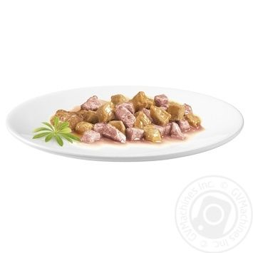 Gourmet With Chicken And Salmon Canned For Cats Food - buy, prices for Tavria V - image 2