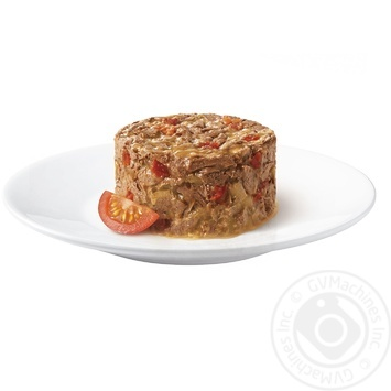 Gourmet for cats canned with beef and tomato food 85g - buy, prices for Tavria V - image 2