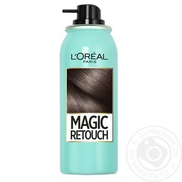 L'Oreal Magic Retouch Spray toning dark brown for instant coloring of adult hair roots 75ml - buy, prices for Novus - image 6