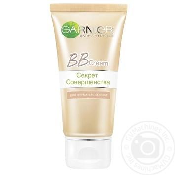 Крем для лица Garnier Skin Naturals 5в1 дневной натурально бежевый тональный увлажняющий 50мл - купить, цены на МегаМаркет - фото 2