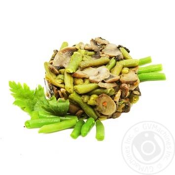 Спаржа з грибами вагова - купити, ціни на Ашан - фото 1