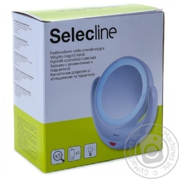 Selecline MWLM318-01 cosmetic mirror with backlight - buy, prices for Auchan - image 1