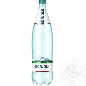 Вода Borjomi мінеральна сильногазована пластикова пляшка 1,25л - купити, ціни на МегаМаркет - фото 1