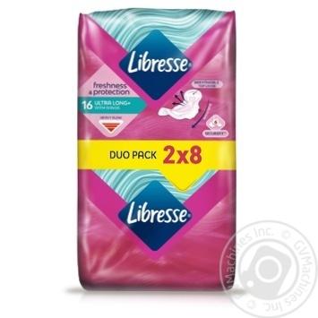 Прокладки гигиенические Libresse Ultra Long 5 капель 16шт - купить, цены на Восторг - фото 2
