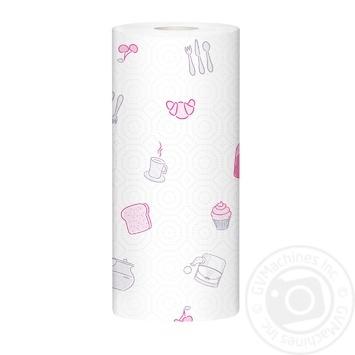Zewa Premium Decor white 2-ply paper towel 2pcs - buy, prices for MegaMarket - image 2