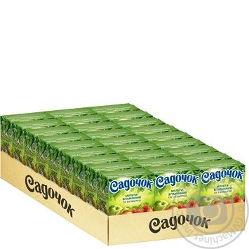 Сок Садочок мультивитаминный 0,2л - купить, цены на Фуршет - фото 3