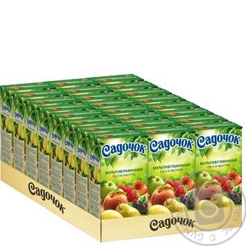 Sadochok multivitamin juice 0,5l - buy, prices for Novus - image 2