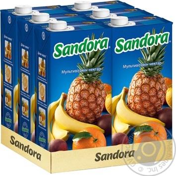Нектар Sandora Мультивитамин 2л - купить, цены на Novus - фото 2