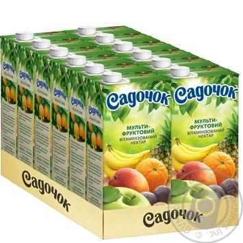 Нектар Садочок Мультифрукт Slim 0.95л - купить, цены на Фуршет - фото 3