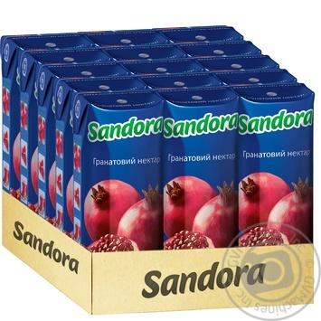 Нектар Sandora гранатовий 250мл - купити, ціни на МегаМаркет - фото 2