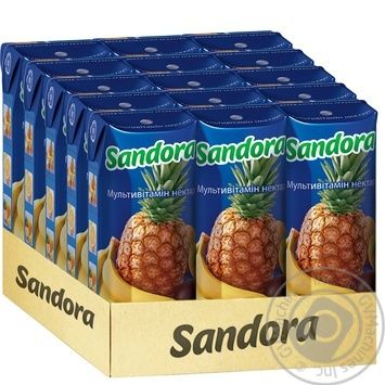 Нектар Sandora мультивитаминный 250мл - купить, цены на Фуршет - фото 2