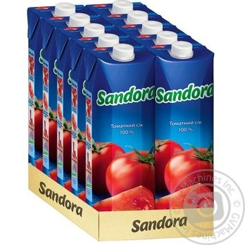 Сік Sandora томатний з сіллю 950мл - купити, ціни на Фуршет - фото 2