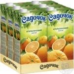 Нектар Садочок апельсиновий 1,93л - купити, ціни на Метро - фото 3