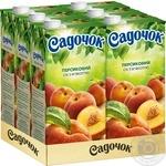Сік Садочок персиковий 1,93л - купити, ціни на Метро - фото 3