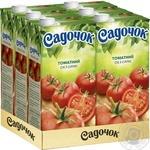 Сік Садочок томатний з сіллю 1,93л - купити, ціни на Фуршет - фото 3