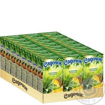Нектар Садочок ананасово-яблочный 0,5л - купить, цены на Novus - фото 3