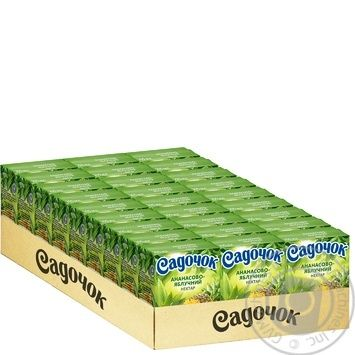 Sadochok Apple-pineapple Nectar 0,2l - buy, prices for MegaMarket - image 3