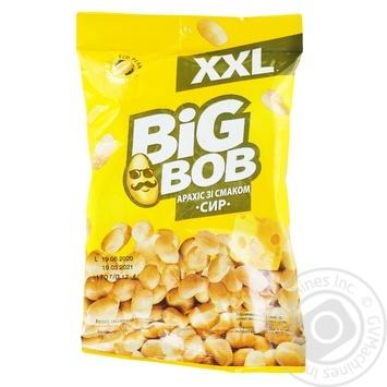 Арахис Big Bob жареный соленый со вкусом сыра 170г
