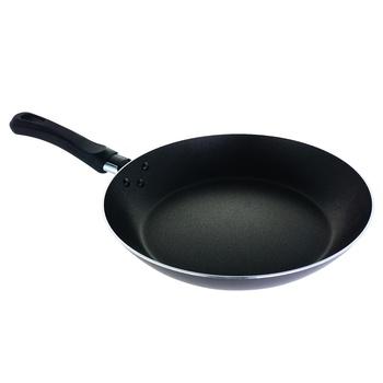 Сковорода с антипригарным покрытием 24см - купить, цены на Ашан - фото 1
