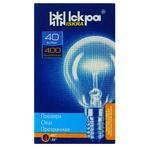 Iskra Transparent Lamp E14 PS45 T 230B 40W