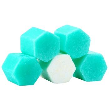 Блок для унитаза Domestos Power 5 с хлором кристальная чистота 55г - купить, цены на Ашан - фото 5
