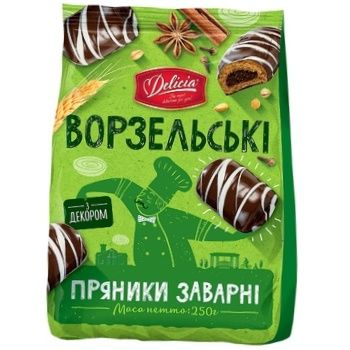 Delicia Vorzelski Scalded Gingerbread 250g - buy, prices for Auchan - photo 2