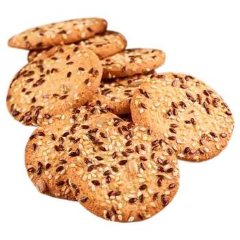 Печенье Biscotti Cookies time с семечками 180г - купить, цены на СитиМаркет - фото 2