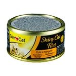 Корм влажный GimCat ShinyCat Filet с цыпленком и манго для кошек 70г