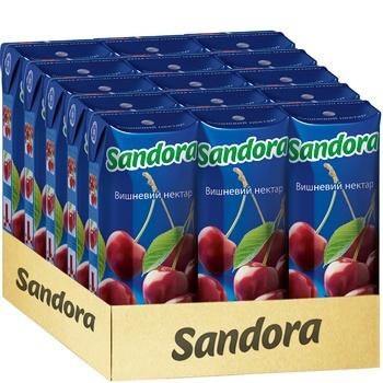 Нектар Sandora вишневий 0,25л - купити, ціни на CітіМаркет - фото 2