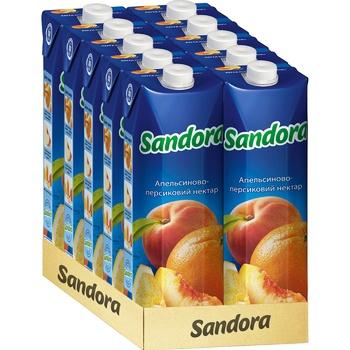 Нектар Sandora апельсиново-персиковый 0,95л - купить, цены на Метро - фото 2