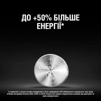 Батарейка Duracell 3V 2032 2шт - купить, цены на Ашан - фото 2