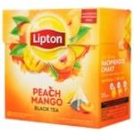 Lipton Peach Mango Black Tea in Pyramids 20pcs*1,8g