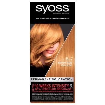 SYOSS №8-7 Hair Dye Caramel Blond - buy, prices for CityMarket - photo 5