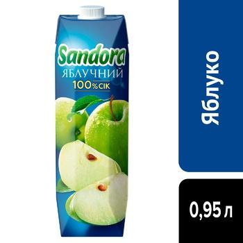 Sandora Apple Juice 0,95l - buy, prices for CityMarket - photo 4