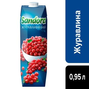 Sandora Cranberry Morce 0,95l - buy, prices for CityMarket - photo 4