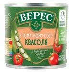 Фасоль Верес в томатном соусе 400г