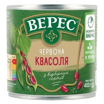 Фасоль Верес красная 400г