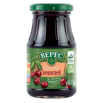 Veres Cherry Confiture 370g