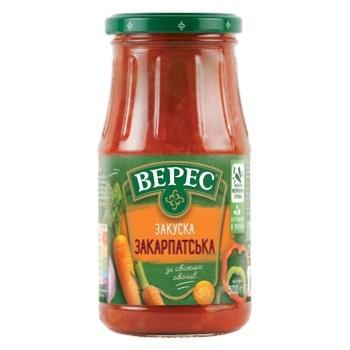 Veres Zakarpatska Vegetable Appetizer 500g - buy, prices for CityMarket - photo 2