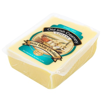 Old Irish Creamery White Young Cheddar Cheese 55% 200g