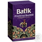 Tea Batik black loose 100g cardboard packaging