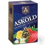Чай зеленый Askold Strawberry cream байховый листовой 60г