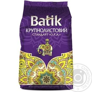 Чай черный Batik крупнолистовой 150г - купить, цены на Ашан - фото 1