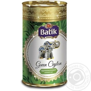 Чай Батик зеленый листовой 100г